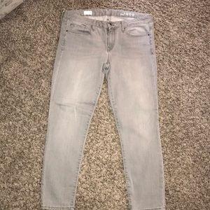 Gap gray jeans